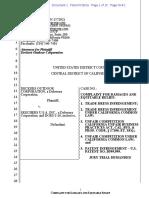 Deckers v. Skechers - Complaint
