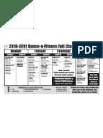 DNF Schedule Oct 10