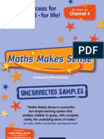 Maths Makes Sense sample resources