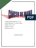 Cancer de Mama Sesion Informativa