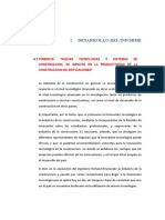 Desarrollo Del Informe Aci
