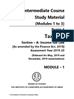 Tax Icai Material