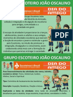 Dia Do Amigo Ideias e Programação 2019 Gejo ALCATÉIA ANDREY