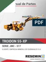 Manual de Partes Troidon 55-Xp Jmc-517