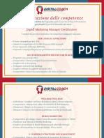 S. Bodini Certificato delle Competenze