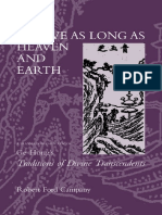 Epdf.pub to Live as Long as Heaven and Earth a Translation