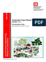 Sustainable Project Rating Tool (SPiRiT)