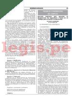 Decreto Supremo 011 2019 TR Legis.pe