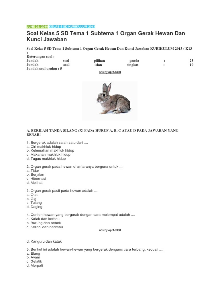 38+ Contoh hewan vertebrata dan avertebrata kelas 5 sd terbaru