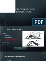 Descripcion de Rocas Piroclasticas