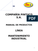 Manual de productos- pintuco linea industrial