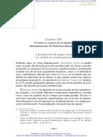 UNAM - El Hábeas Corpus en El SIDH