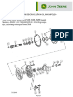 Transmission Clutch Oil Manifold
