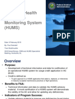 FAA HUMS Research Program