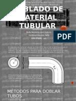 Doblado de Material Tubular