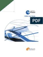 Planet mentum CDMA User Guide