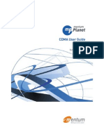 Planet mentum CDMA User Guide