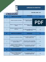 Catalogo de Objetivos Integrados