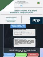 Caracterisiticas Del Informe de Auditoria