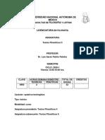 Patiño Luis. Textos Filosóficos v . 2020-1
