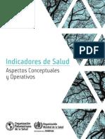 Indicadores de Salud Aspectos conceptuales y operativos
