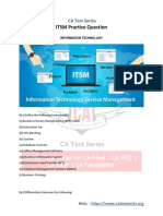 IT Service Management (ITSM) Practice Questions 2019 - PDF