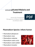 Uncomplicated Malaria and Treatment