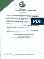 Certificado de Frequência