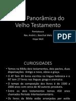 Visão Panorâmica Do Velho Testamento