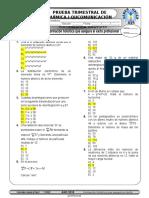 Modelos de Pruebas Escritas Quimica i