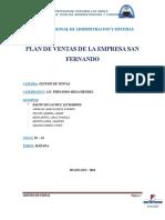 Plan de Ventas San Fernando
