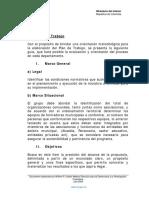 Plan de Accion Organizaciones Comunales. Programa Formadores