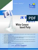 JK Wall Putty Data Sheet