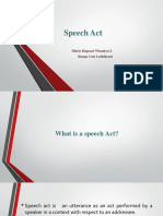 Speech Act