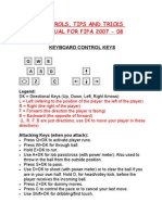 13845438 Controls Tips Tricks Manual for FIFA 07 08