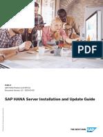 SAP HANA Server 2.0 Installation Guide