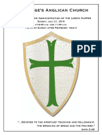 6 Pentecost Year C | 21 July @ 9 & 11