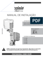 MANUAL DE INSTALAÇÃO AUTOMATIZADOR