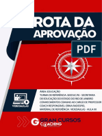 17026605 Rota Da Aprovacao Seeduc Rj Cc Professor 00