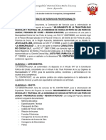 Contrata Del Ing. Fidel Parra