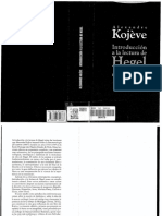 Alexandre Kojève_Introducción a La Lectura de Hegel