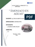 Trabajo de Amoniaco