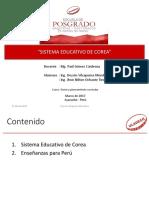 1. Sistema Educativo de Corea