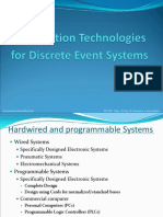 Automation Technologies for Discrete Event Systems