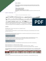 Exercício de Harmonização Modal Dórico Solução Harmônica