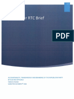 Colchester RTC Brief