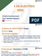 Direito Constitucional - Nathalia Masson