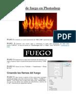 Texto de fuego en Photoshop.docx
