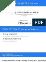 122edfa67a78d02f63d9b8004f490013 Security Market Indices