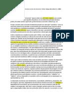 Ficha BOURDIEU Estrutura Economia